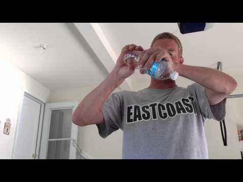 Water Bottle POP Blow the cap off