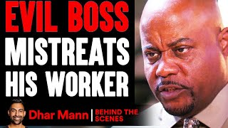 Evil BOSS MISTREATS His WORKER (Behind-The-Scenes) ft. Benny Soliven | Dhar Mann Studios