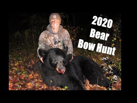 NJ Bear Hunt with the Bow 2020 (3 Camera Angles!)