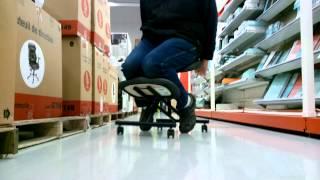 Staples Kneeling Chair Trial 1.