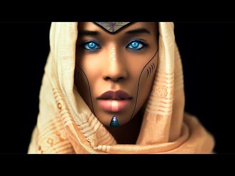 Sci Fi Photoshop Manipulation Fantasy Cyborg Warrior Girl