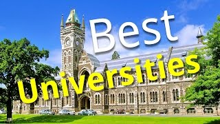 Top 10 Universities - Top 10 Best Universities In The World! (2015)