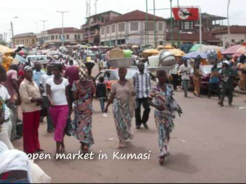The Cities of Kumasi and Accra in Ghana