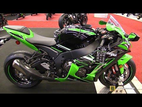 2017 Kawasaki Ninja ZX10R ABS - Walkaround - 2017 Montreal Motorcycle Show