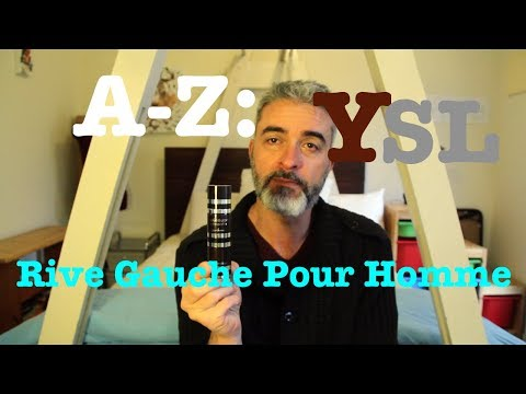Day 17: A-Z: Y is for YSL's Rive Gauche Pour Homme