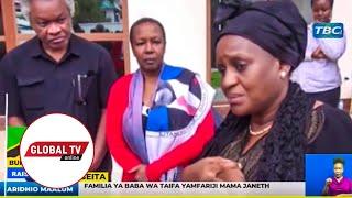 MAMA JANETH MAGUFULI AZUNGUMZA KWA MARA YA KWANZA, MBELE YA FAMILIA YA MWL NYERERE...