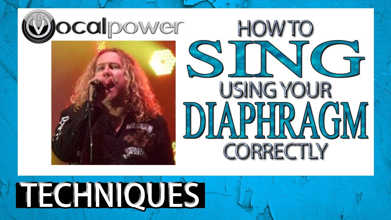 How To Sing Using Your Diaphragm Correctly - Breathing tips for ...