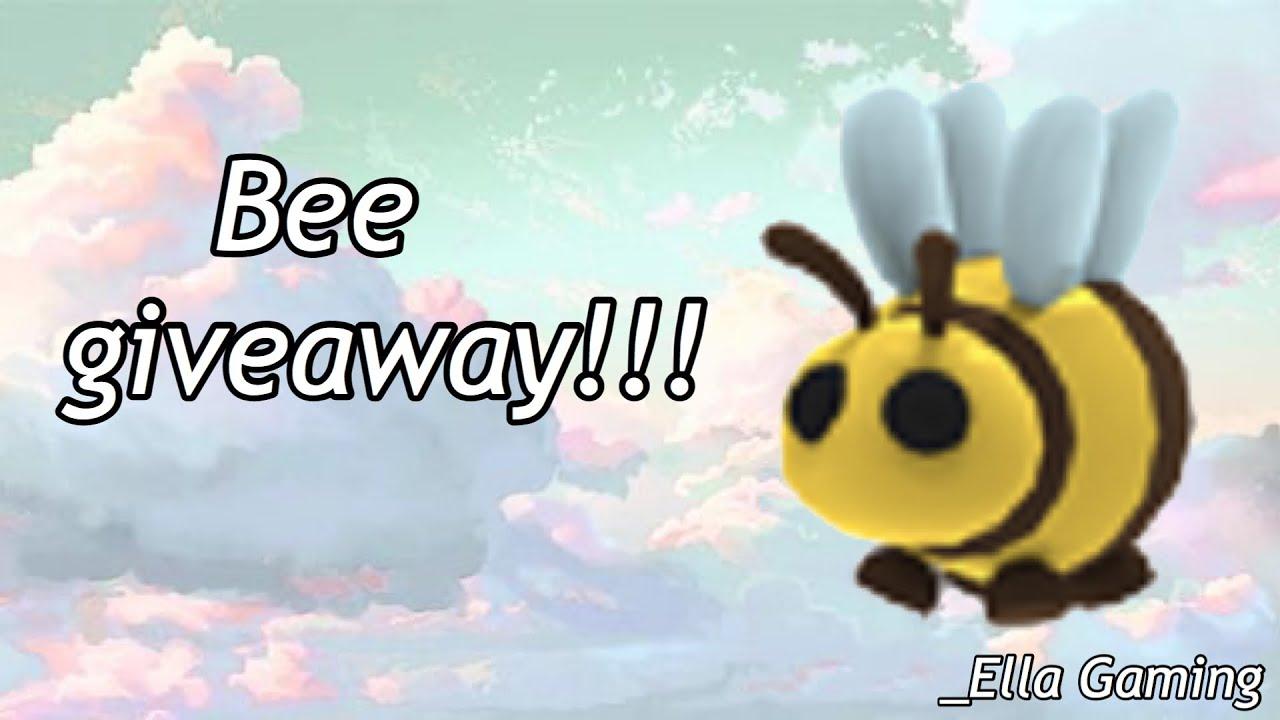 Adopt me ~ Bee giveaway / _Ella Gaming - YouTube
