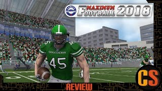 MAXIMUM FOOTBALL 2018 - PS4 REVIEW