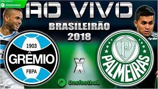Grêmio 0x2 Palmeiras | Vitória 1x0 Chapecoense | Brasileirão 2018 | Parciais Cartola FC | 10ª Rodada