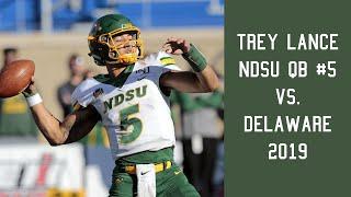 Trey Lance (NDSU QB #5) vs Delaware (2019)