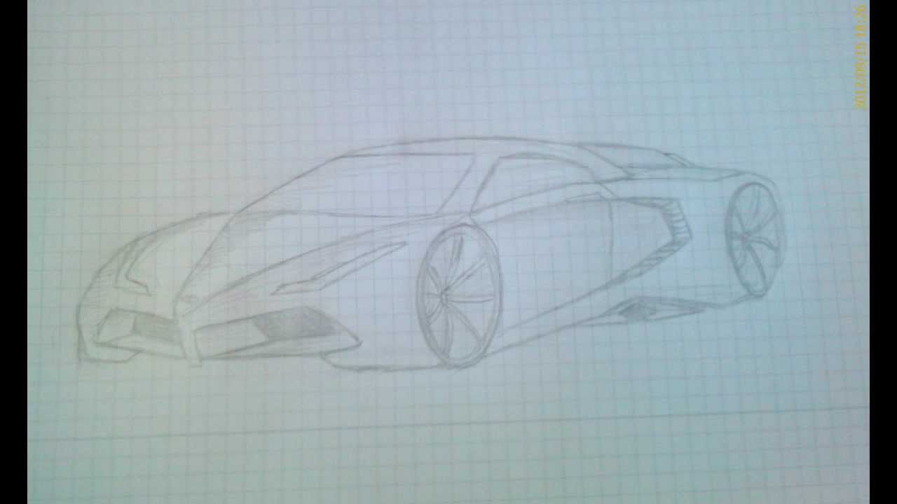 How To : Draw A Concept Car