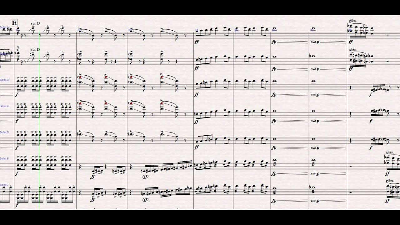 A Khachaturian - (with score) 'Sabre Dance'' (arranged by