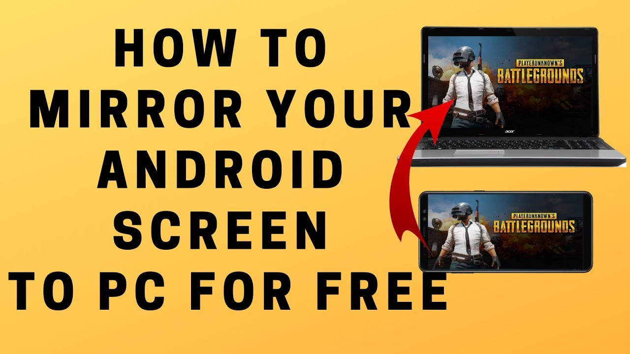How to Mirror Your Android Screen to PC for FREE