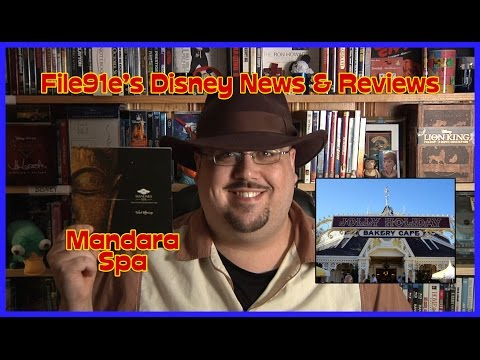 File91e's Disney News & Reviews (Jolly Holiday Bakery Café & The Mandara Spa)