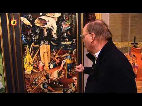 Muzieknoten uit Jeroen Bosch-schilderij Tuin der Lusten gespeeld