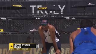 2018 FIVB Huntington Beach Open: Dalhausser/Lucena vs Filho/Santos
