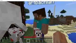 Minecraft - Jogando multiplayer 2
