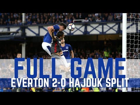 EUROPA LEAGUE PLAY-OFF: EVERTON v HAJDUK...
