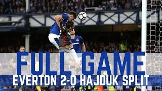EUROPA LEAGUE PLAY-OFF: EVERTON v HAJDUK SPLIT