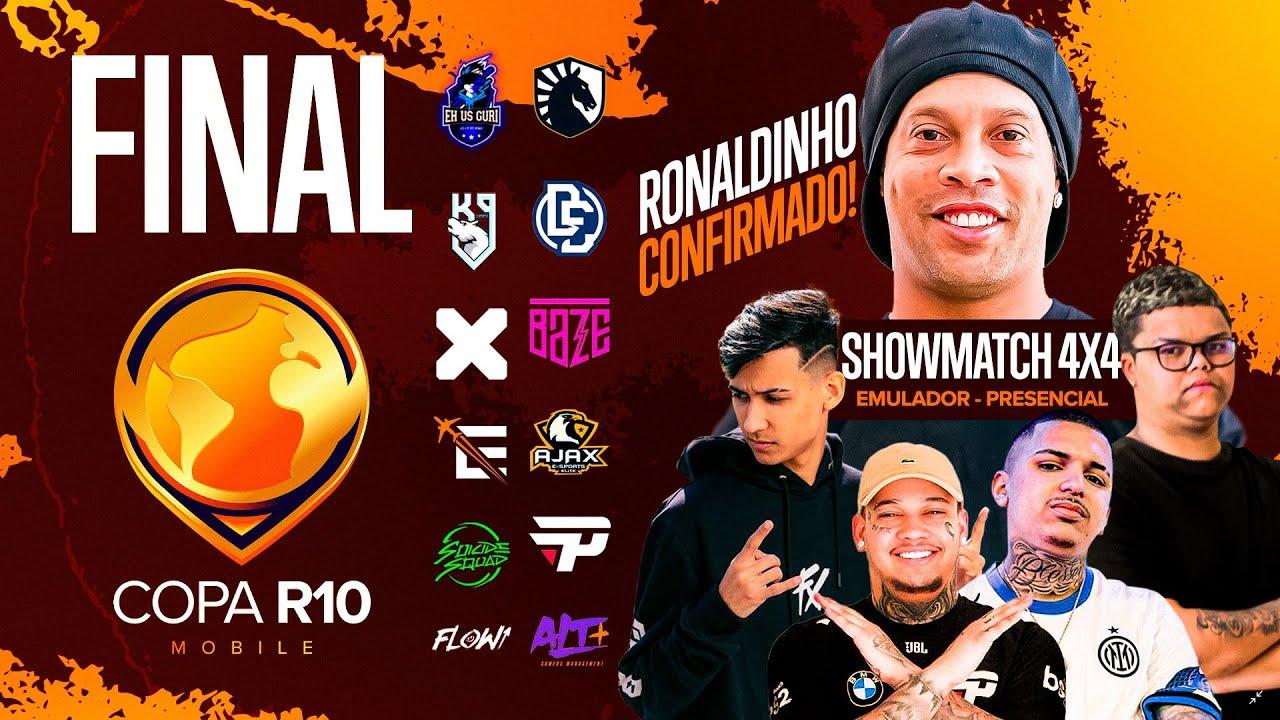 COPA R10 - SHOWMATCH EMULADOR + FINAL BOLA DE OURO.
