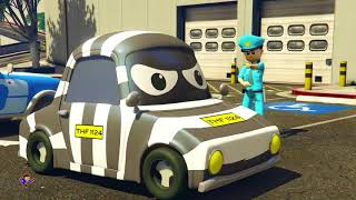 Police vs Thief Car video for kids Video for children Kids police car Superhero Fun Rhymes