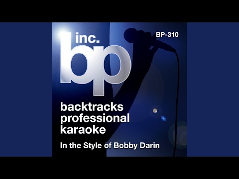 You Must Have Been A Beautiful Baby (Karaoke Instrumental Track) (In the Style of Bobby Darin)