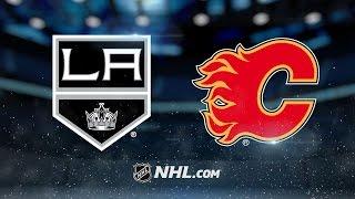 Gaudreau, Monahan lead Flames past Kings