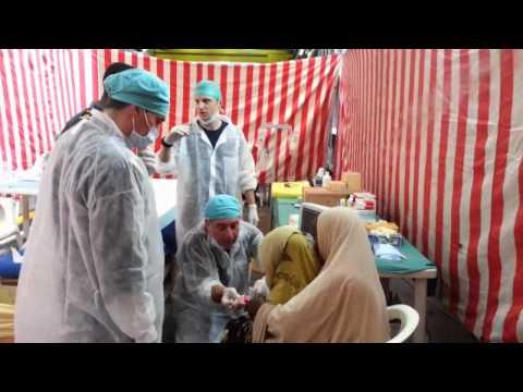 Marina Militare - Nave San Marco in assistenza medica alla popolazione somala