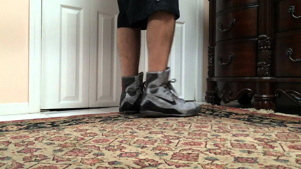 on sale 8457b 5bfdc Nike Kobe 9 IX Elite Detail On Foot
