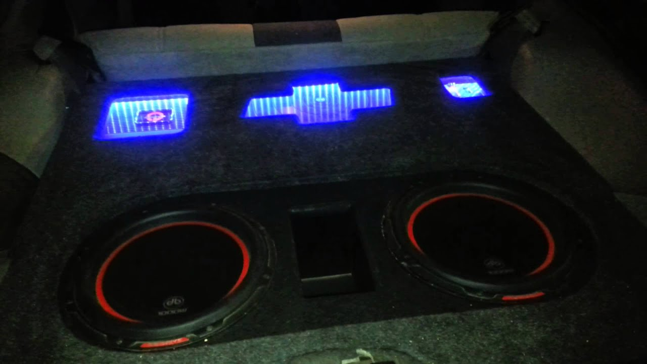 Custom Sound System In 93 Camaro Youtube