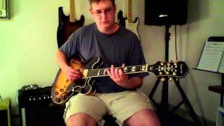 Rod Chubb - Epiphone Sheraton II Demo
