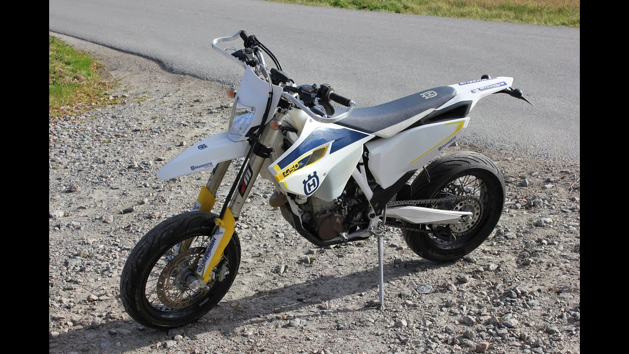 husqvarna fe 450 sm 0 170 sound youtube