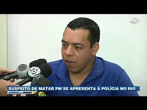 RJ: Suspeito de matar PM se apresenta à polícia