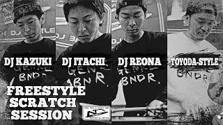 genre bndr scratch session 5 dj kazuki dj itachi dj reona toyoda style