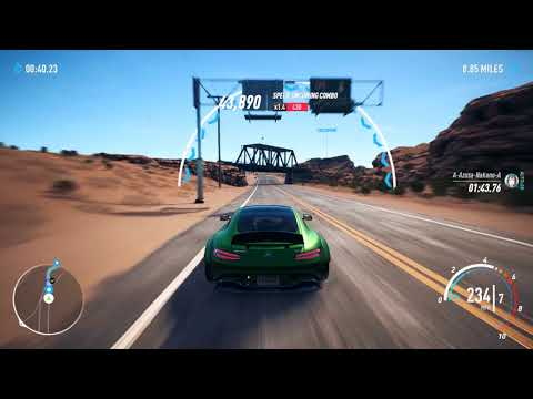 Need For Speed Payback - LV399 Mercedes-Benz AMG GT Performance & Gameplay