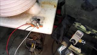 GE Monitor Top Refrigerator Compressor Seized - 1 - Try to break her free!