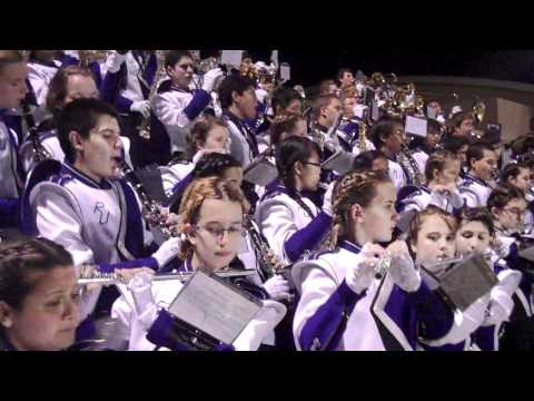 Rincon University High School Marching Band In Tucson, AZ  On 9 16 2011 Performing Keep Them Seperated