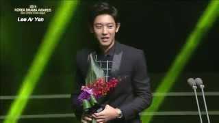 "Video 151009 ""Best New Actor"" Award at the 2015 Korea Drama Awards download MP3, 3GP, MP4, WEBM, AVI, FLV Mei 2018"
