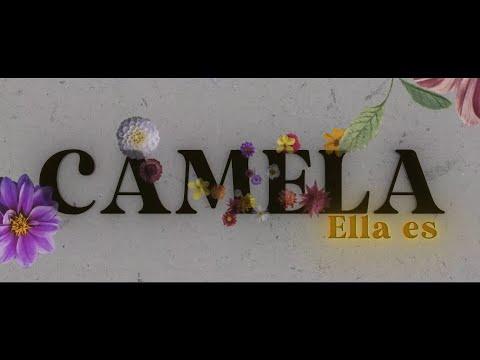 Camela - Ella es (Lyric Video Oficial)