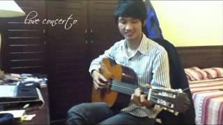 love concerto guitar cover.avi