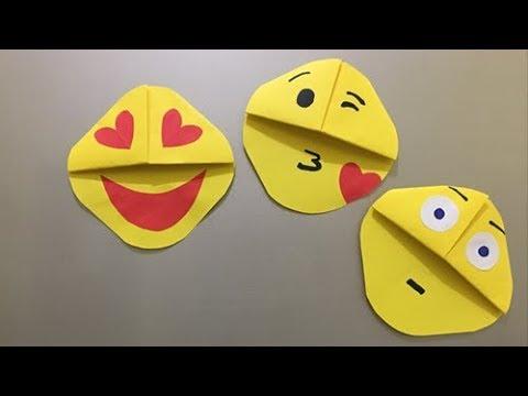 Emoji DIY Origami | Paper Crafts