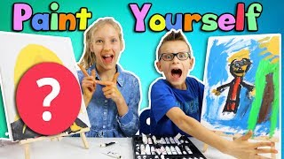 PAINT YOURSELF CHALLENGE!!!