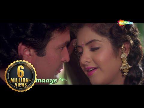 teri-umeed-tera-intezar---lyrical-video-|-deewana-|-rishi-kapoor,-divya-bharti-|-90's-romantic-song