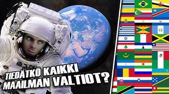 Tiedätkö Kaikki Maailman Valtiot!? | Testi