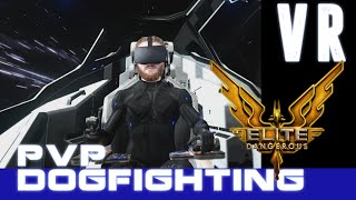 Elite Dangerous: Arena - Space PvP Dogfighting VR HTC Vive gameplay [Virtual Reality]