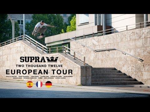 SUPRA Presents The 2012 European Tour