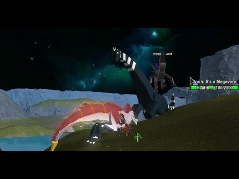 Roblox - Dino Sim Wars - SAUROPODS COMING INTO MID!