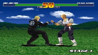 Fighter Maker [PS1] - play as Keith Storm