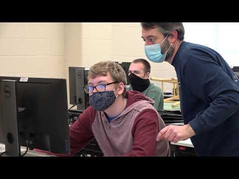 Heide Trask High School CTE promotional video